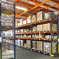 Warehouse space in the<br />